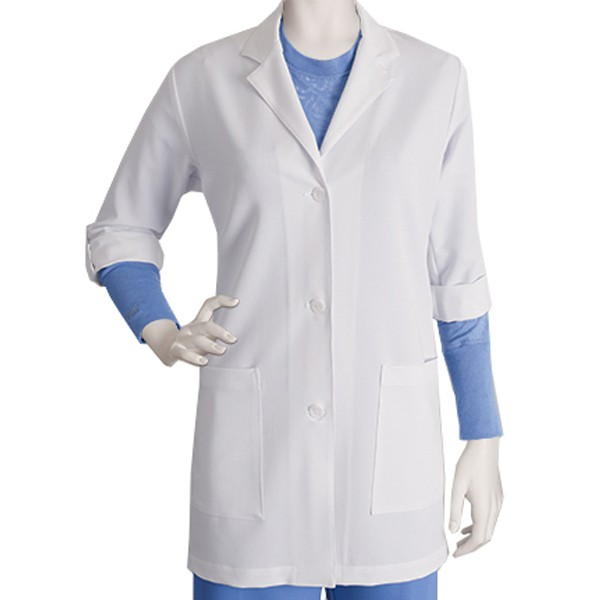 Barco Greys Anatomy Signature Womens Lab Coat Saginaw Knitting